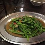 37139423 - 空芯菜の炒め物