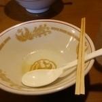 青島食堂 司菜 - 完食しました
