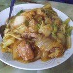 玉蘭 - 豚角煮ご飯のアップ。