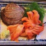 丸冨水産 - 赤貝お刺身