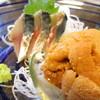 うな鈴 - 料理写真:刺身:サバ・ウニ