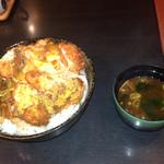 味波 - 鶏ササミカツ丼 大盛り 580円