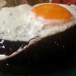 にっぽんの洋食 江戸一 - 2013/09/11 12:10訪問 ハンバーグのアップ