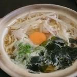 割烹食事 井谷 - 2015年3月 鍋焼きラーメン