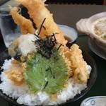 割烹食事 井谷 - 2015年3月 穴子天丼