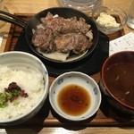 37143268 - 豚ステーキ定食