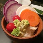 嬉野 - おしゃれな野菜たち