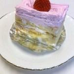ロザンヌ洋菓子店 - 料理写真:苺のケーキ