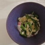 レストラン アルシミスト - 料理写真:グリーンサラダのデザート