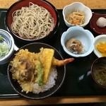 37144871 - 天丼セット1,000円