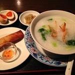 台湾食堂 帆 - お粥ランチセット
