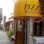 アルベロベロ - お店は路地裏途中にあります