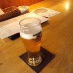 厨 - 先ずはビール