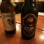 アララギ - シンハーとライオンビール