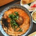 旬味そば 名倉 - 梅とじ蕎麦
