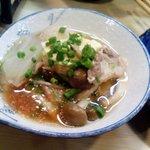 とり満 - カモ鍋中身