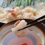 【新鍋!】白濁鶏スープのもつ鍋