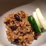 お日さまのえがお - 2015年4月再訪です! 酵素玄米&お漬け物♬