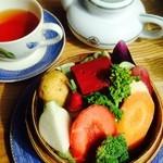 スプーンガーデンレストラン - お野菜せいろ蒸し