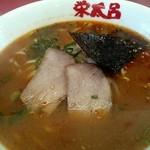 栄太呂ラーメン - ピり辛ラーメン味噌味