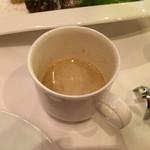 37157352 - マッシュルームのスープ(前菜)