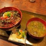 きよ都 - 別誂・「海鮮丼」(800円)