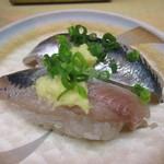 天下寿司 - いわし 125円