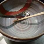 麺匠 呉屋 - 海老そば 完食