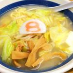 8番らーめん - ラーメン バター風味