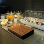 竹彩 - ラウンジのフリーオードブル