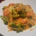 ゴロシタ - 小エビと旬野菜のトマトクリーム