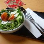 啖啖茶館 - 付いてくるサラダ