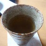 啖啖茶館 - 付いてくるコーン茶