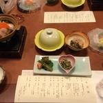 双泉の宿 朱白 - 料理写真: