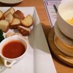 卵's工房 - チーズフォンデュ