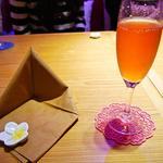 プルメリアカフェ - グラススパークリングワイン