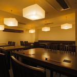木ノ下 - テーブル席