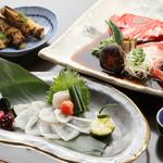 木ノ下 - うす造り 金目鯛兜煮 焼筍