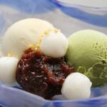 木ノ下 - 白玉アイス