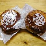 37163925 - 焼きドーナツ、プレーン/メープル各¥195