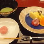 紀尾井町 福田家 - 水菓子