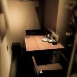 韓花 - ●シュミレーション▶︎【5】2人用の個室。壁にはオブジェもあり、いいかんじ!