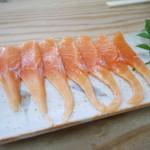 鳩の巣釜めし - 料理写真:岩魚刺身