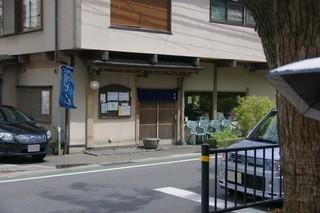 竹扇 - お店外観