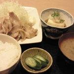 3717810 - 生姜焼き定食
