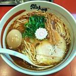37171438 - 【黒大醤 (醤油) + 半熟味付け玉子】¥700 + ¥100