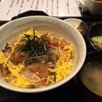 37171837 - 真鯛のしそみぞれ丼(日替り魚定食)