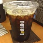 ドトールコーヒーショップ - もうアイスコーヒーの季節ですね。