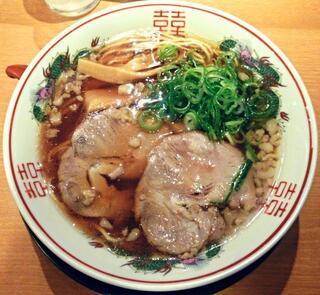 中華そば ふじい 難波千日前店 - 【中華そば】¥710