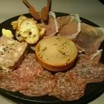 37172567 - お肉の前菜プレート
